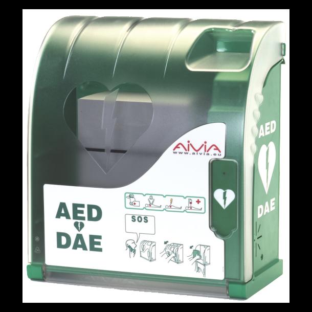 AIVIA 200 - plastskab til opbevaring af AED/hjertestarter